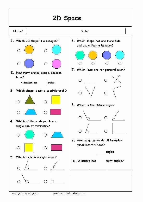 Two Dimensional Shapes Worksheet Beautiful T N Shape Properties Worksheets 1 Two Dimensional Shapes