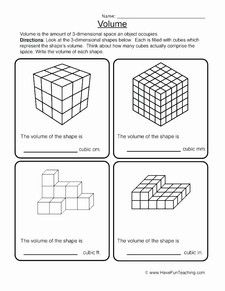 Two Dimensional Shapes Worksheets 3 Dimensional Worksheets