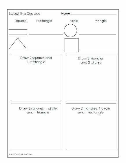 Two Dimensional Shapes Worksheets Kindergarten 3 Dimensional Shapes Worksheets