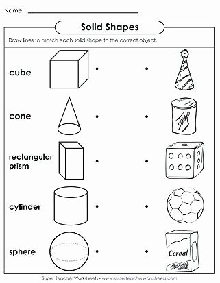 Two Dimensional Shapes Worksheets Three Dimensional Shapes Worksheets Kindergarten T N Shape