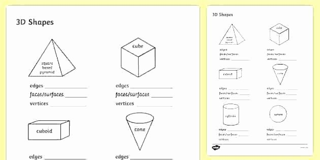 Two Dimensional Shapes Worksheets Two Dimensional Shapes Worksheets 3rd Grade