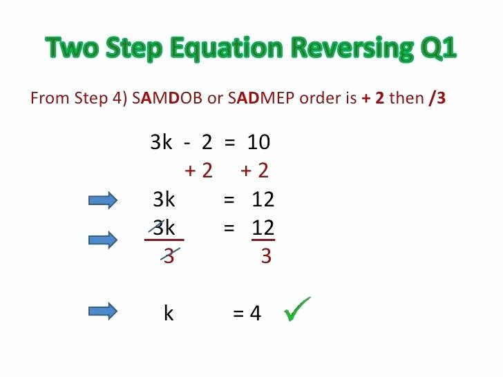 Two Step Equations Coloring Worksheet How to Do A Two Step Equation Math – Imateub