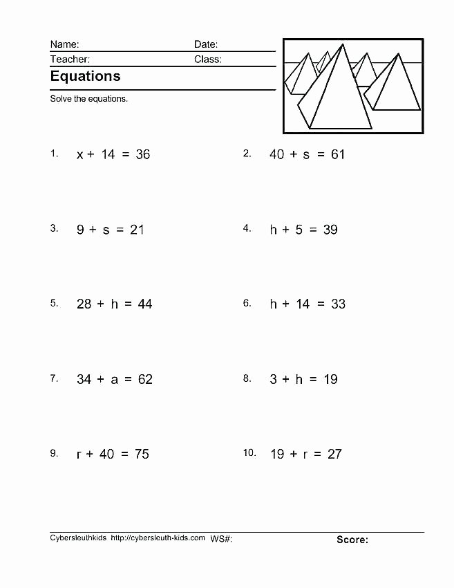 Two Step Equations Coloring Worksheet solving E Step Equations Worksheet by Math Worksheets and Two