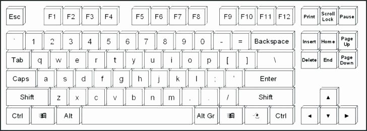 Typing Practice Worksheets Unique Puter Keyboard Diagram Worksheets – Vmglobal