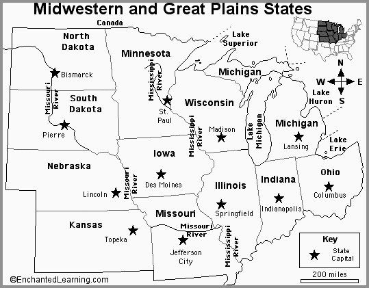 United States Capitals Quiz Printable United States Map with Capitals Worksheet – Faithadventures