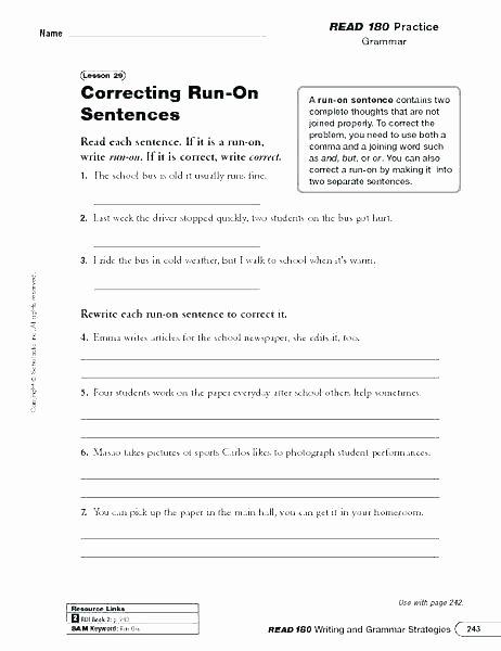 Unscramble Sentences Worksheets Free Printable Scrambled Sentences Worksheets Grade School