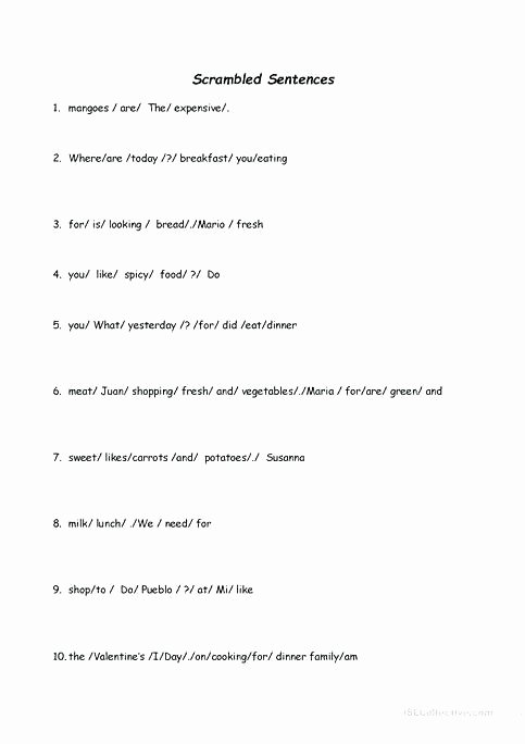 scrambled sentences worksheet free printable worksheets made by scrambled sentences worksheet free printable worksheets made by teachers fun activities games 1 middle school fun math activity sheets f