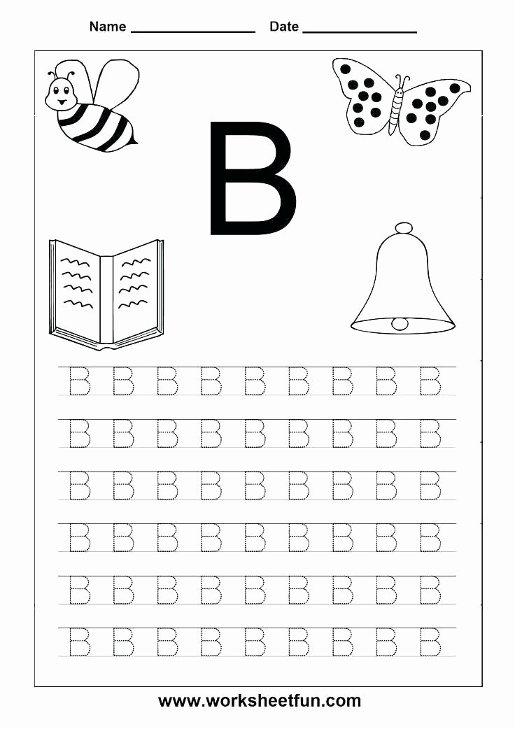Upper and Lowercase Tracing Worksheets Alphabet Worksheets Letter A