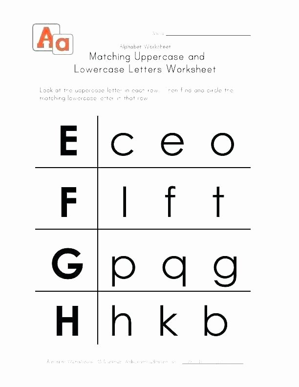 Upper and Lowercase Tracing Worksheets Small Letters Worksheets for Kindergarten