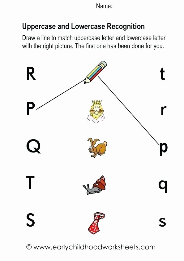Uppercase and Lowercase Worksheets Lower Case Alphabet Printable Worksheets