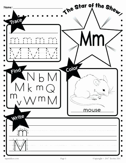 Uppercase and Lowercase Worksheets Lowercase Letter Tracing Worksheets Free Uppercase and