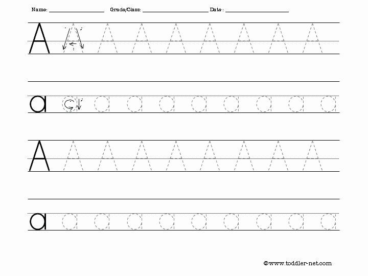 Uppercase Letter Tracing Worksheets Free Letter Tracing Worksheets