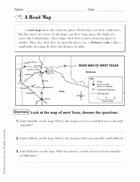 Us Geography Worksheets Pdf Map Scale Worksheets – Portifo