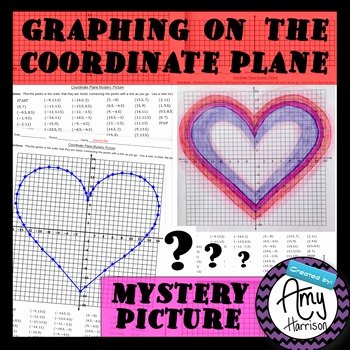 Valentine Day Coordinate Graphing Worksheets Snoopy Coordinate Grid Valentine