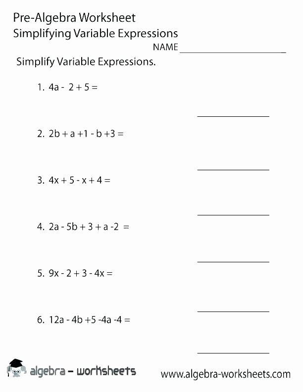 Variables Worksheets 5th Grade Math Variable Worksheets Independent and Dependent Variables