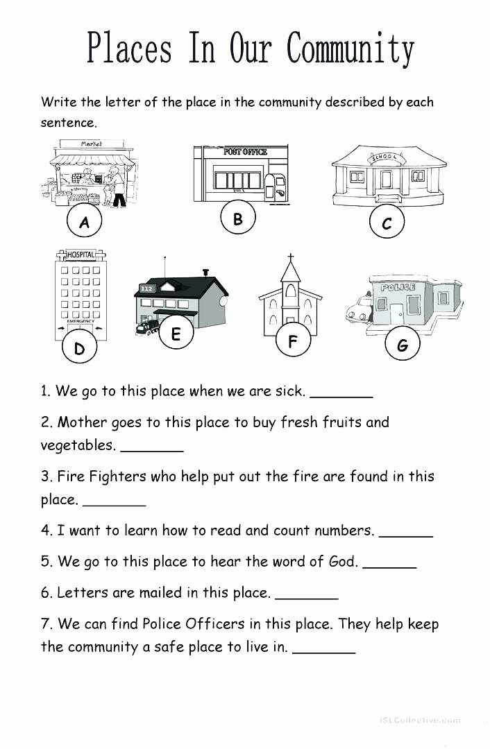 Vegetable Worksheets for Kindergarten Jobs Worksheets for Kindergarten