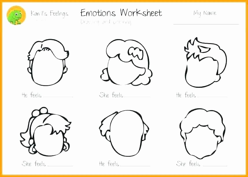 Vegetable Worksheets for Kindergarten Relaxation Techniques for Feelings Worksheet Identifying and