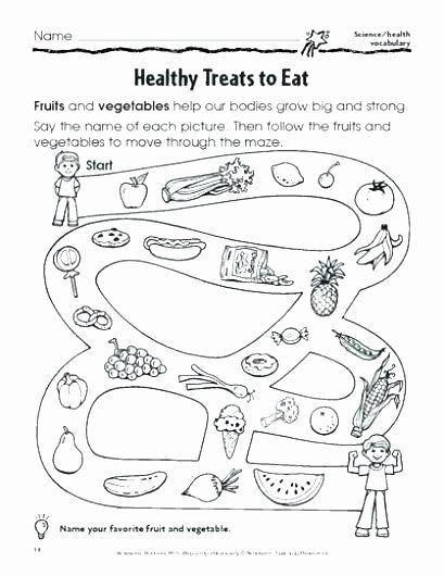 Vegetables Worksheets for Kindergarten Free Reading Prehension Worksheets Teacher Kindergarten
