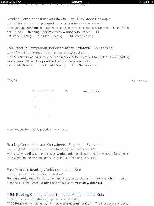 Verb Tense Worksheets 1st Grade Signal 4th Grade Reading Prehension Worksheets Spanish