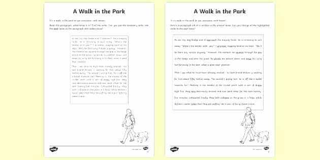Verb Tense Worksheets 2nd Grade Grammar Worksheets for Grade 7