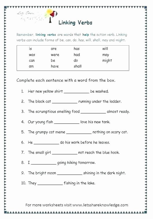 Verb Tense Worksheets 2nd Grade Simple Present Future Tense Exercises Past and Verbs