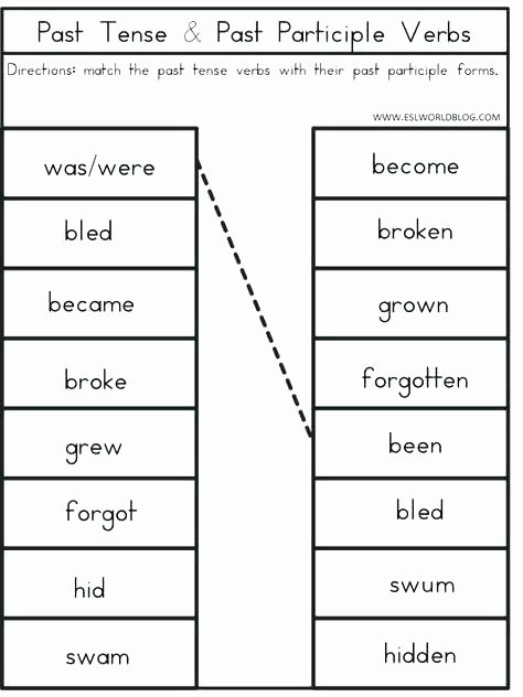 Verb Tense Worksheets 2nd Grade Verb Tense Worksheets Future for Grade 6 Pdf Exercise with