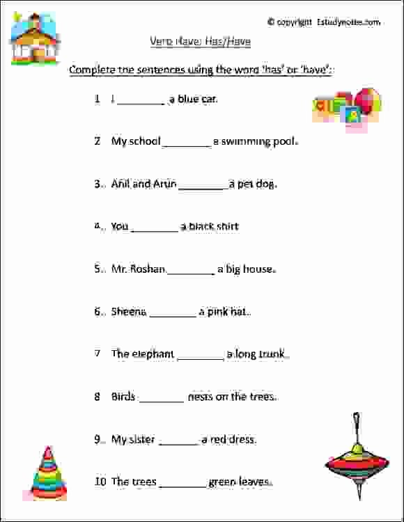 Verb Worksheet 2nd Grade Grade Handwriting Practice Writing Worksheets for 1 Verb