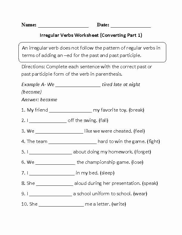 Verbs Past Present Future Worksheet Free Past Tense Verb Worksheets First Grade Verb Worksheets