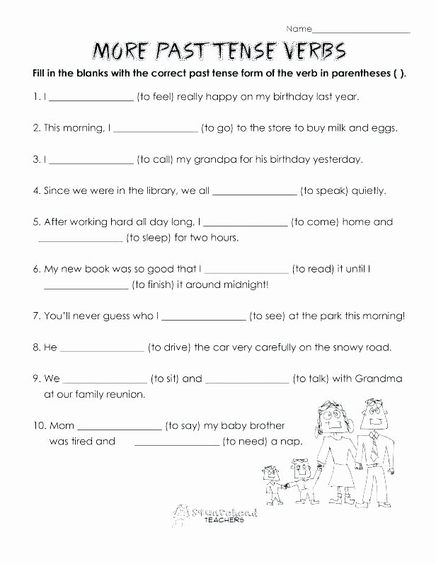 Verbs Past Present Future Worksheet Past Present Future Teaching the Verb Tense System Perfect