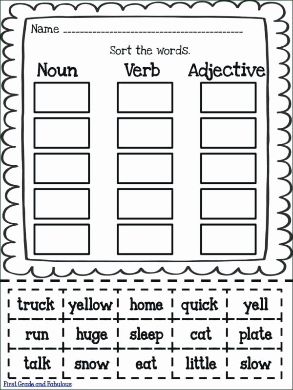 Verbs Worksheet First Grade Noun and Adjective Clauses Exercises Suffixes 2 Adjectives
