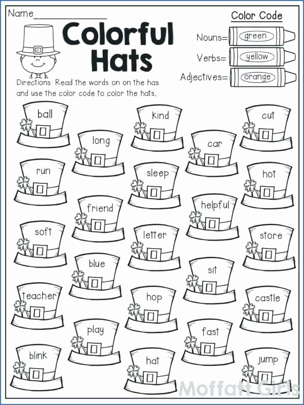 Verbs Worksheets for 1st Grade Ing Ending Worksheets