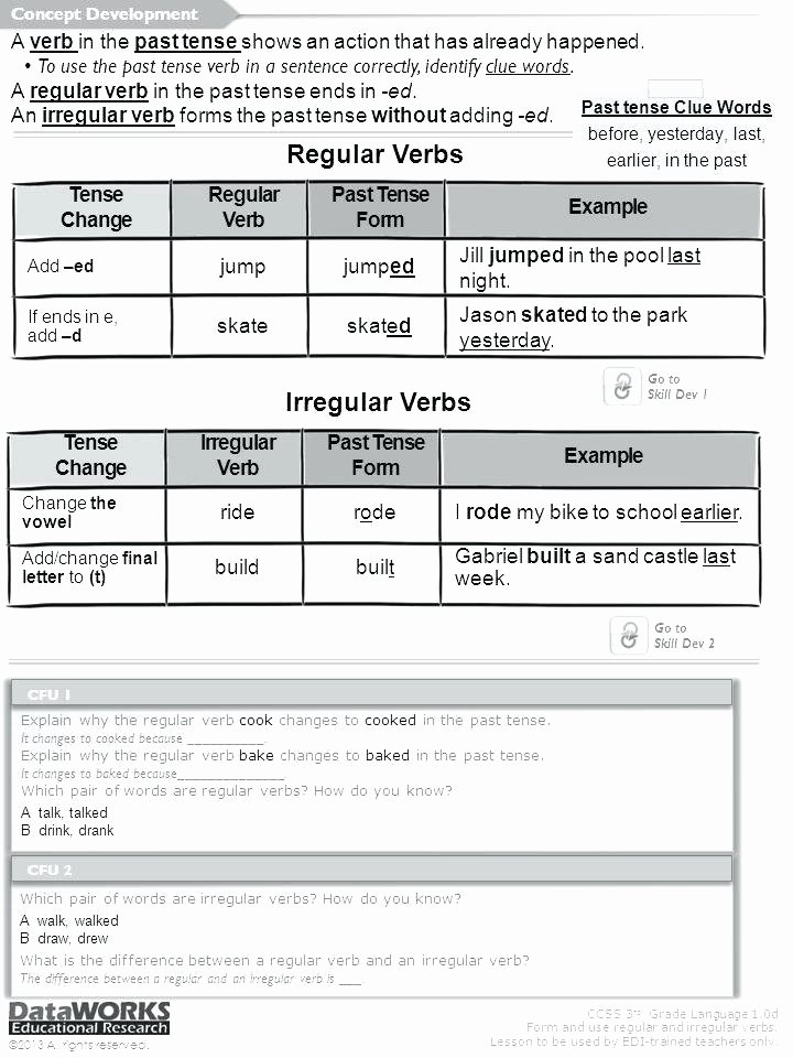 Verbs Worksheets for 1st Grade Verbs for Kindergarten – Apartamentosbogota