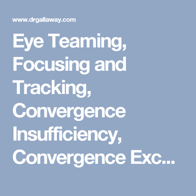 Visual Discrimination Worksheets for Adults Eye Teaming Focusing and Tracking Convergence