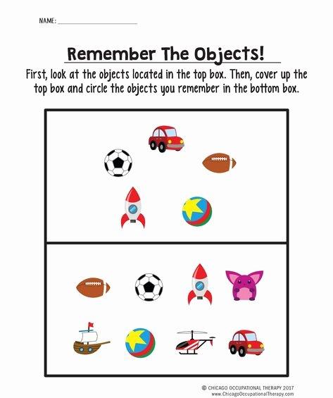 Visual Memory Worksheets Pinterest – Пинтерест