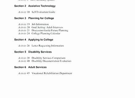 Vocational Skills Worksheet Inspirational Self Advocacy Worksheets Medium to Size Workbooks