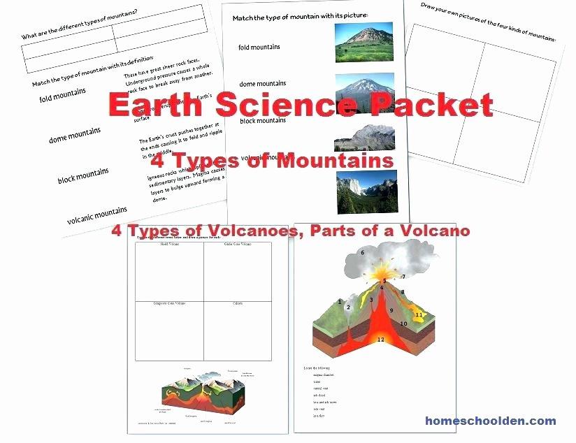 Volcano Reading Comprehension Worksheets Animal Habitat Worksheets for Grade Collection Science