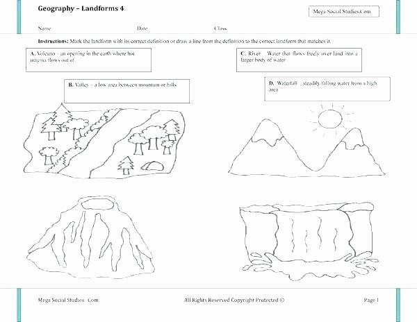 Volcano Reading Comprehension Worksheets Volcano Worksheets Middle School