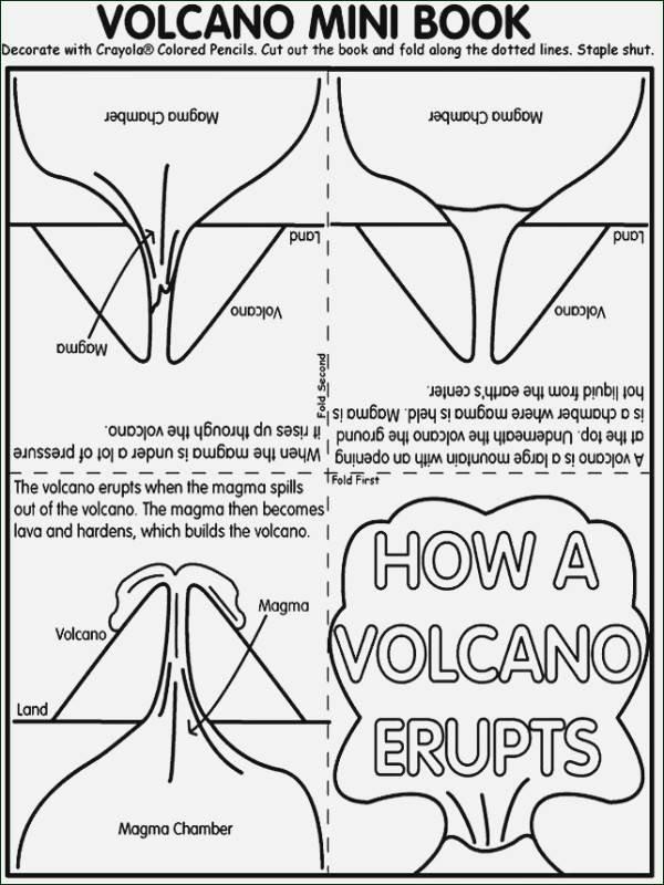 Volcano Worksheet for Kids Volcano Worksheets