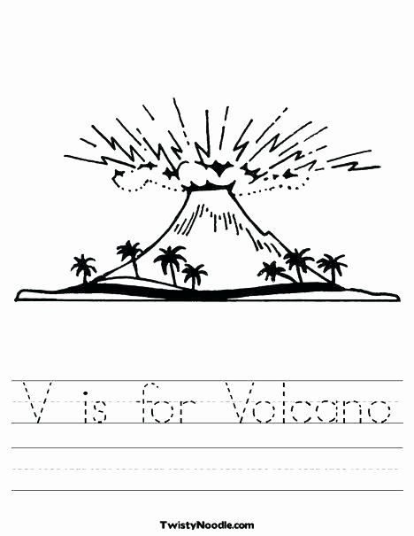 Volcano Worksheets High School Unique Second Grade Volcano Worksheets Best for 2nd Science
