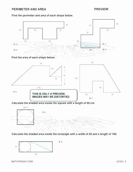 Volume Of Irregular Shapes Worksheet Awesome Irregular area Worksheets Free Surface area Worksheets