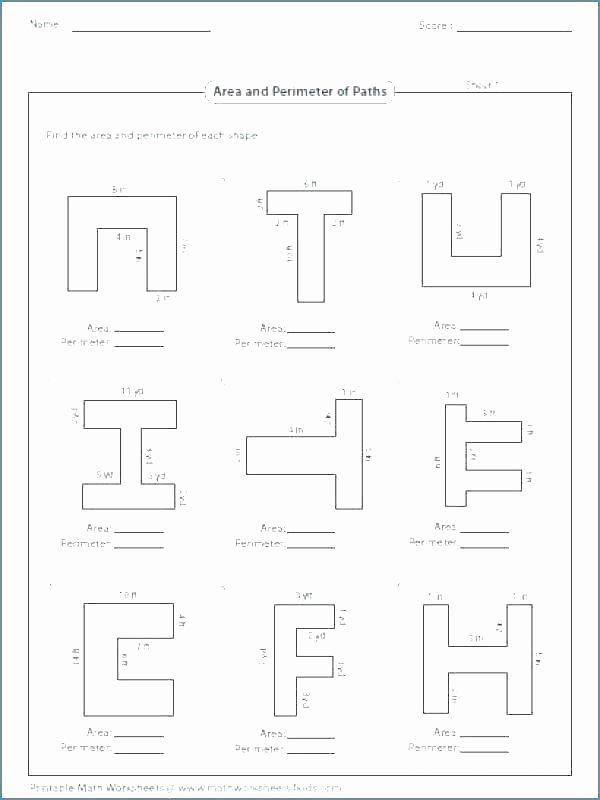 Volume Of Irregular Shapes Worksheet Awesome Perimeter Of Polygons Worksheet – Espace Verandas