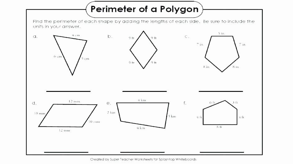 Volume Of Irregular Shapes Worksheet Beautiful Perimeter Of Polygons Worksheet – Espace Verandas