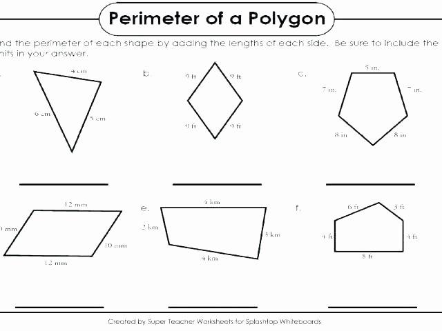 Volume Of Irregular solids Worksheet area Worksheets Grade Polygons Irregular Shapes Finding Pdf