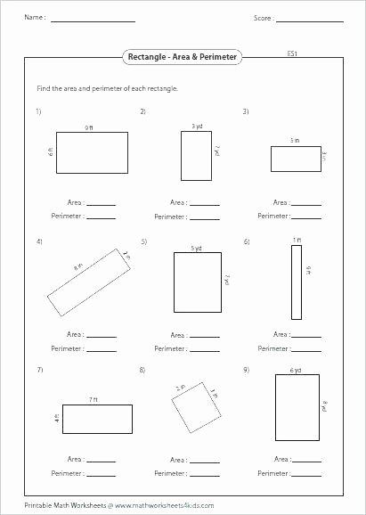 Volume Worksheet 4th Grade area Perimeter Volume Worksheets – 7th Grade Math Worksheets
