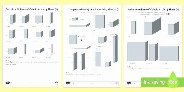Volume Worksheet 4th Grade Measuring Volume Worksheets