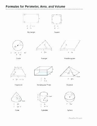 Volume Worksheets 3rd Grade Perimeter area and Volume Worksheets Additive Volume