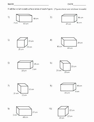 Volume Worksheets 3rd Grade Volume Worksheet Year 8 Surface area and Grade Math 6th