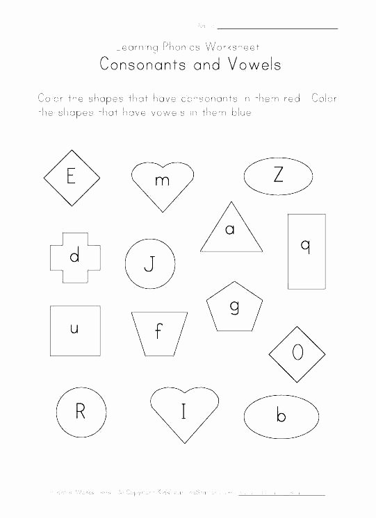 Vowel Consonant E Worksheets Vowel Worksheets Phonics Blends Worksheets for Kindergarten