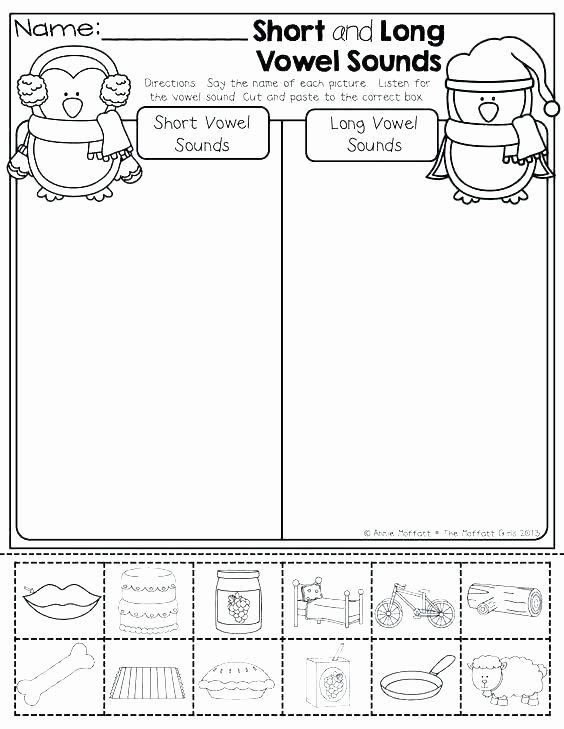 Vowel Team Ea Worksheets Short E and Long E Worksheets