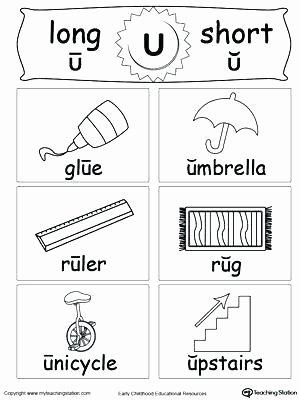 Vowel Team Ea Worksheets Vowels Short Long U sound Words and Vowel Flashcards